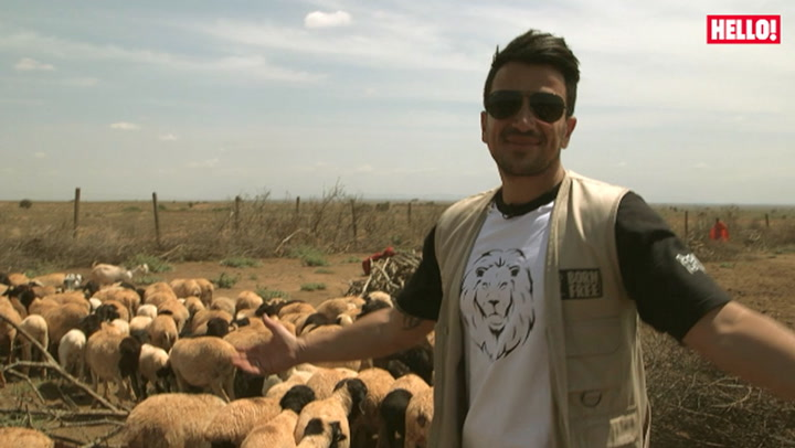 Peter Andre on a mission to save Africa\'s wildlife with Born Free