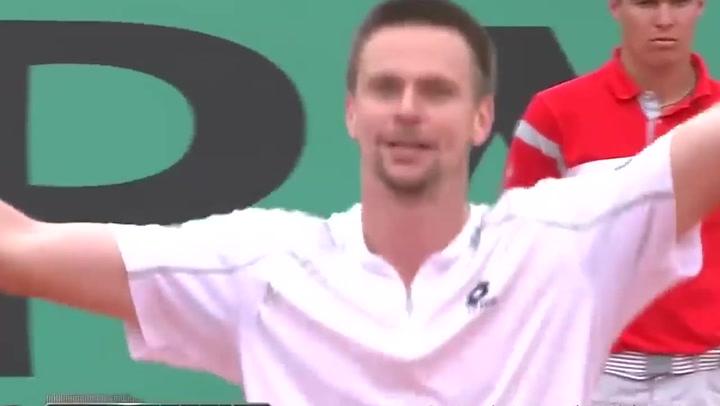 Así fue el último punto del Nadal-Soderling en una de las mayores sorpresas de Roland Garros