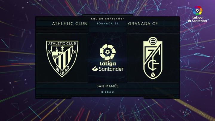 LaLiga (J26): Resumen y goles del Athletic 2-1 Granada