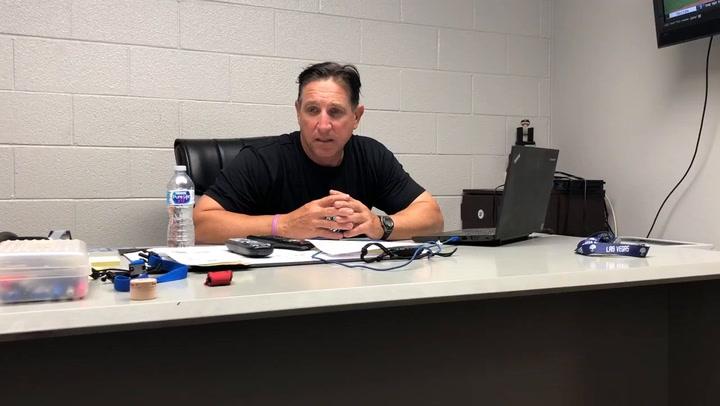 Tony DeFrancesco talks about the loss to Fresno