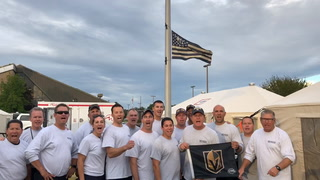 Nevada Task Force One Cheers Golden Knights