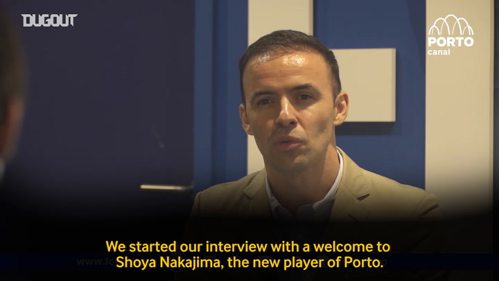 Shōya Nakajima eager to shine at Porto