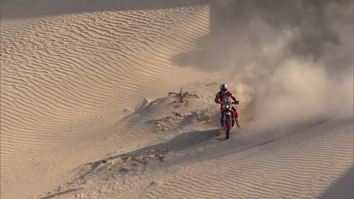 Highlights of the second stage of the Dakar