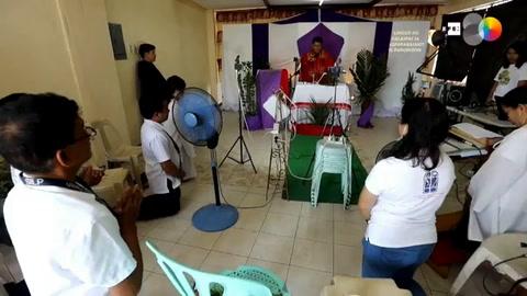 Misas online y rezo hogareño: la atípica Semana Santa filipina en cuarentena