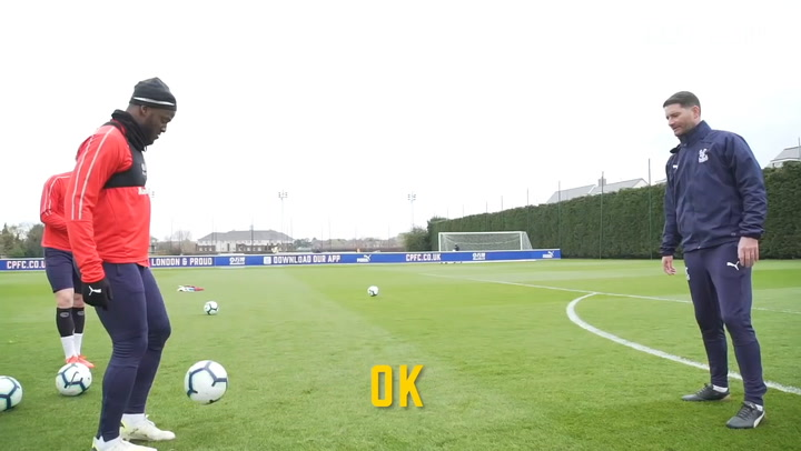 Batshuayi, Meyer And Wickham: Two Touch Shooting Challenge
