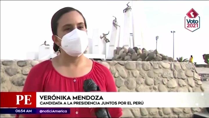 Elecciones 2021: Verónika Mendoza firmó pacto para referéndum por nueva Constitución