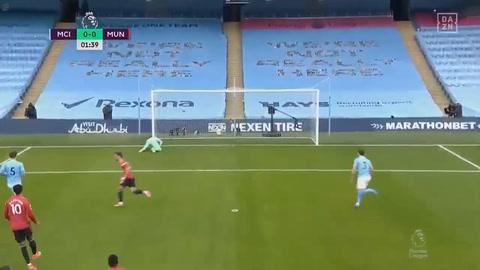 Manchester City 0-2 Manchester United (Premier League)