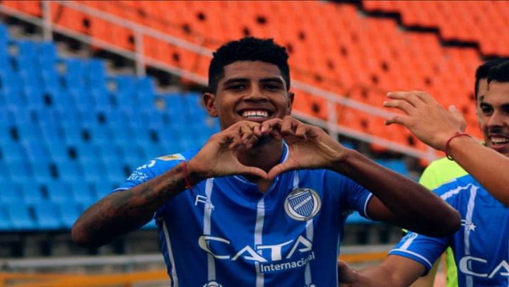 Wilder Cartagena anotó en el triunfo de Godoy Cruz ante Platense