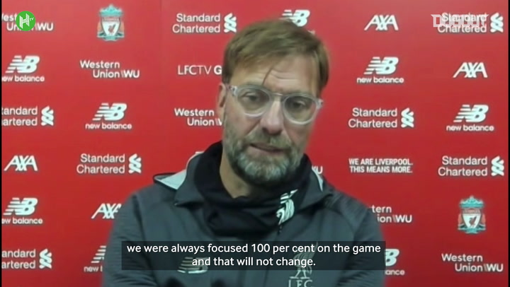 Klopp focused on more than record points tally
