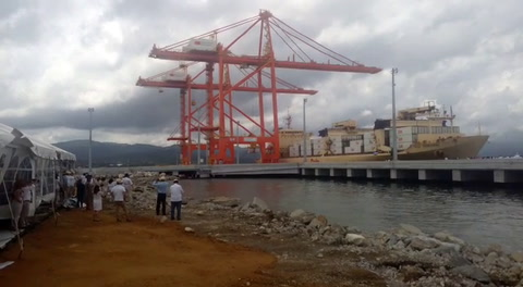 Muelle para contenedores pone a Puerto Cortés a la vanguardia