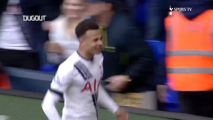 Spurs score three in six minutes vs Manchester United
