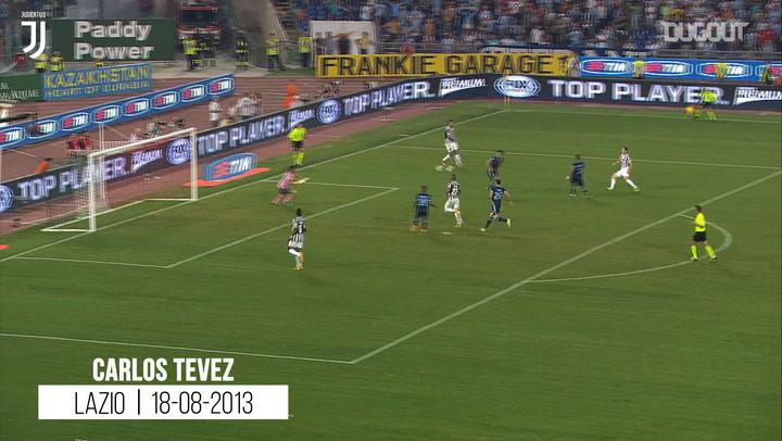 First Juventus Goals: Tévez, Bonucci, Cannavaro, Inzaghi, Zidane