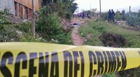 Matan a mujer en la aldea Nueva Suyapa de la capital