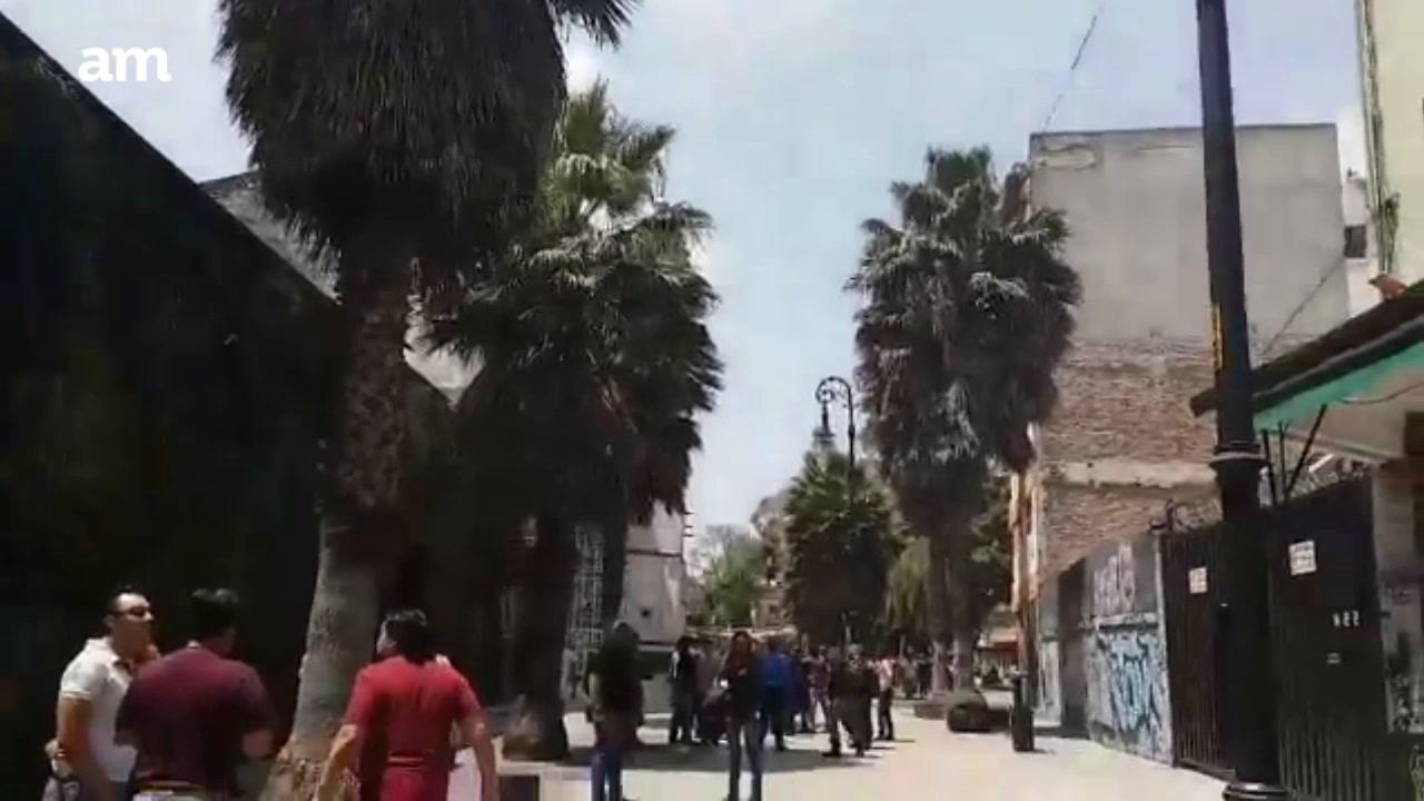Sismo en Ciudad de México