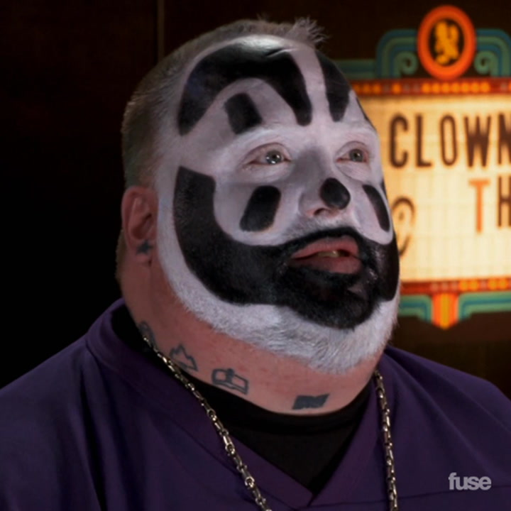 """Insane Clown Posse Watch Macklemore & Ryan Lewis """"Can't Hold Us"""" in ICP Theater"""
