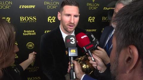 Lionel Messi gana su sexto Balón de Oro, récord absoluto