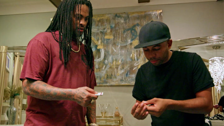 Waka Flocka Flame Learns Magic
