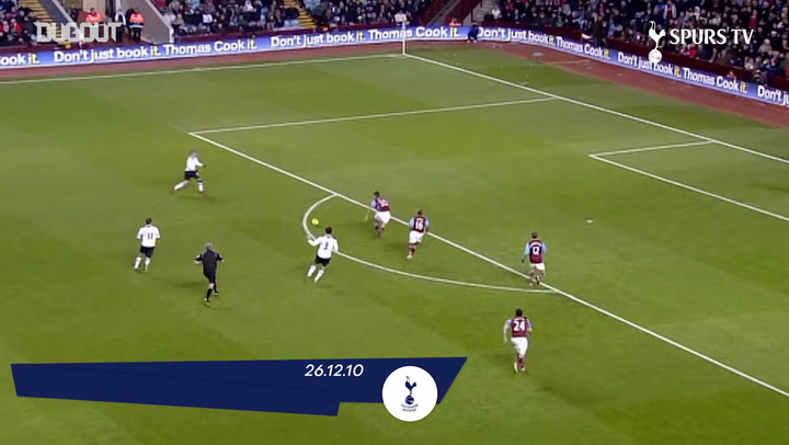 Spurs' best goals at Villa Park