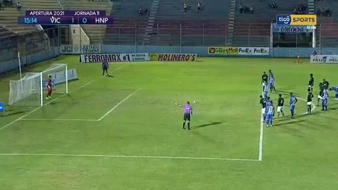 Victoria 1-2 Honduras Prgoreso (Liga Nacional)
