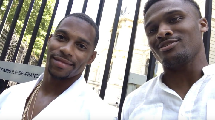 Brice Butler Takes Paris