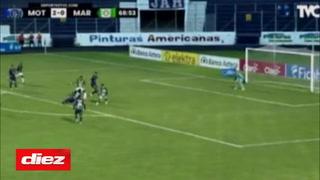 Edwin Solano acerca a Marathón ante Motagua y marca el 2-1 en el Nacional