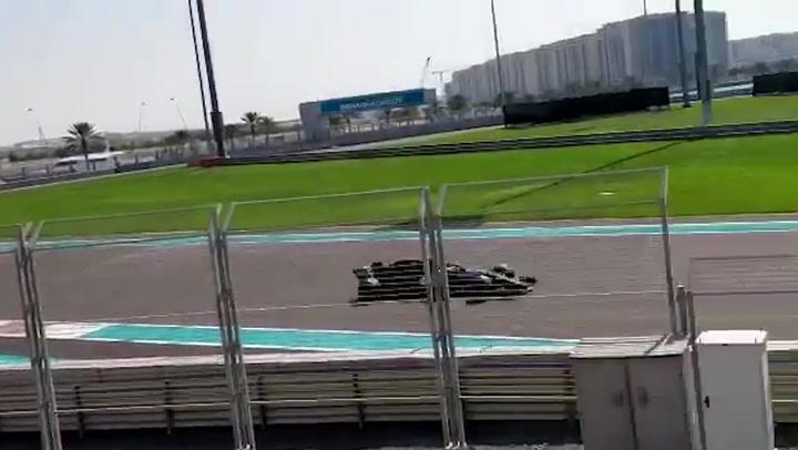 Fernando Alonso, otros mil kilómetros en el bolsillo en Abu Dhabi