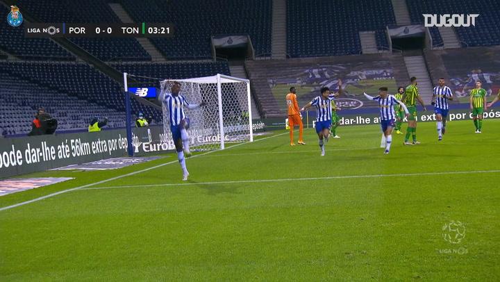Marega's brace secures FC Porto comeback vs Tondela