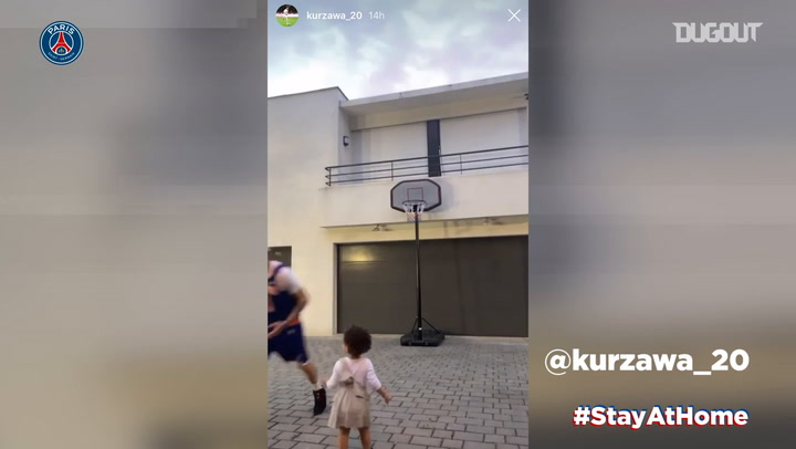 Stay at home: Stories of the day with Kurzawa and Kimpembe