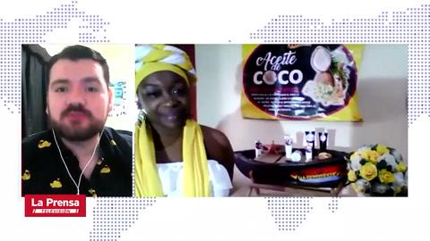Emprendedora hondureña crea su propia marca de aceite de coco