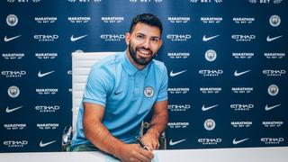 Sergio 'Kun' Agüero prolonga su contrato con el Manchester City
