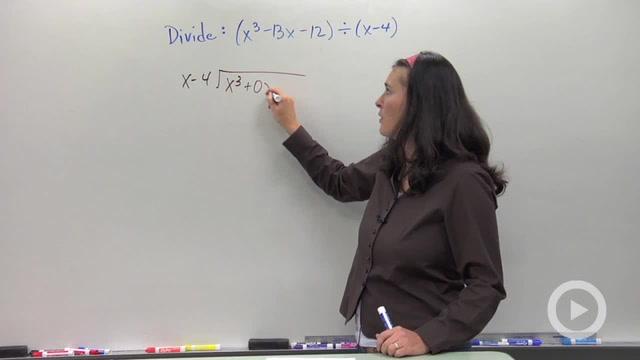Dividing Polynomials - Problem 2