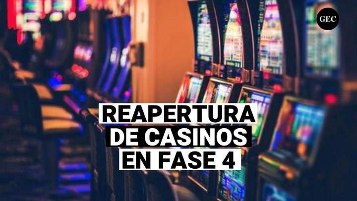 Fase de reactivación de teatros y casinos
