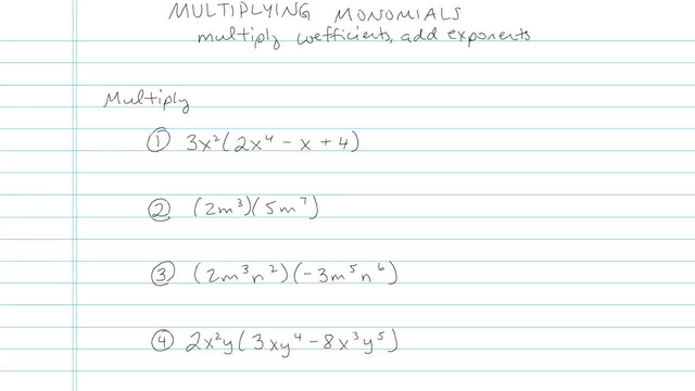 Multiplying Monomials and/or Binomials and FOIL - Problem 3