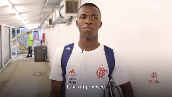 Vinicius Jr's stunning skill against Coritiba