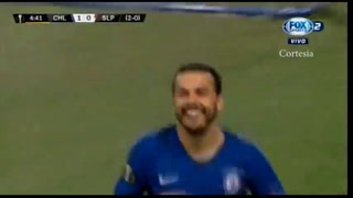 Chelsea ganando 2-0 ante Slavia Praga y se está metiendo a semifinales de Europa League