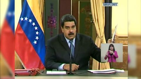 Maduro anuncia que multiplicará por 34 el salario mínimo