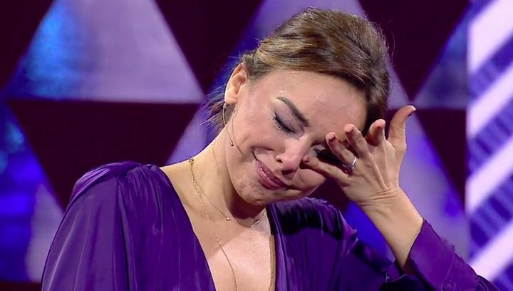 Las lágrimas de Chenoa al hablar de amores en 'El Show de Bertín'