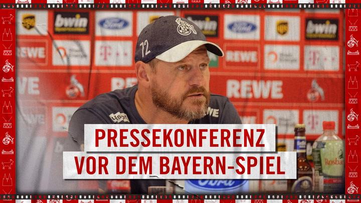 Presskonferenz vor München