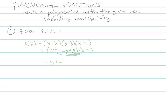 Polynomial Function - Problem 9