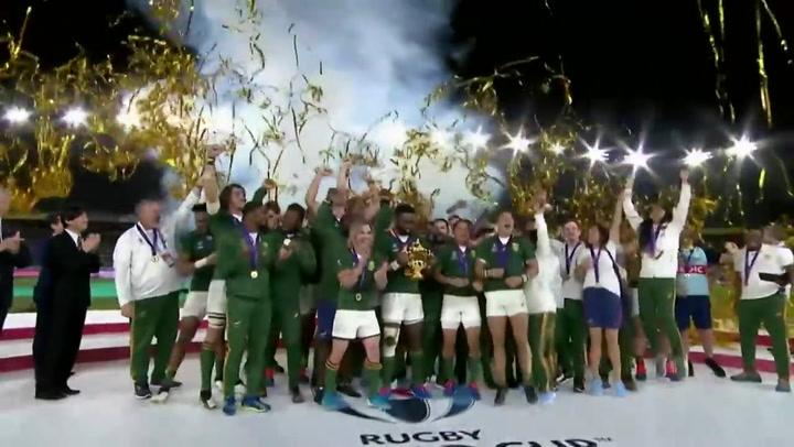 Sudáfrica es la nueva campeona del mundo de rugby