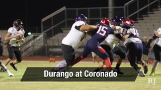 Nevada Preps Week 4: Durango at Coronado Highlights