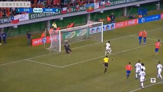 Arturo Vidal anota el segundo para Chile ante la H