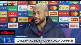 Neymar quiere volver a jugar con Messi: