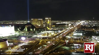 New Year's Eve live from the Las Vegas Strip security and traffic update – Video