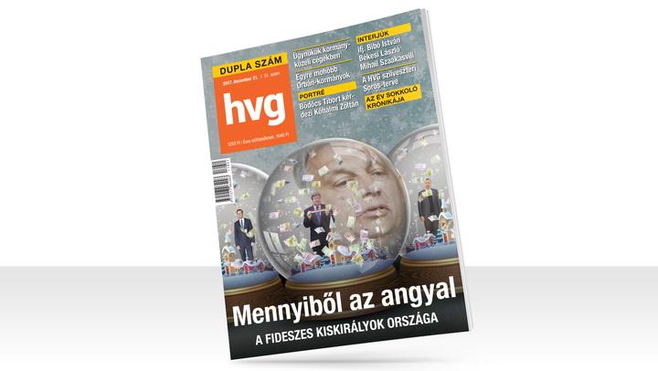 HVG címlapsztori: Mennyiből az angyal