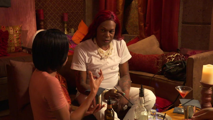 Freedia, Katey Red and Ms. Tee Drink Flaming Shots: Deleted Scene