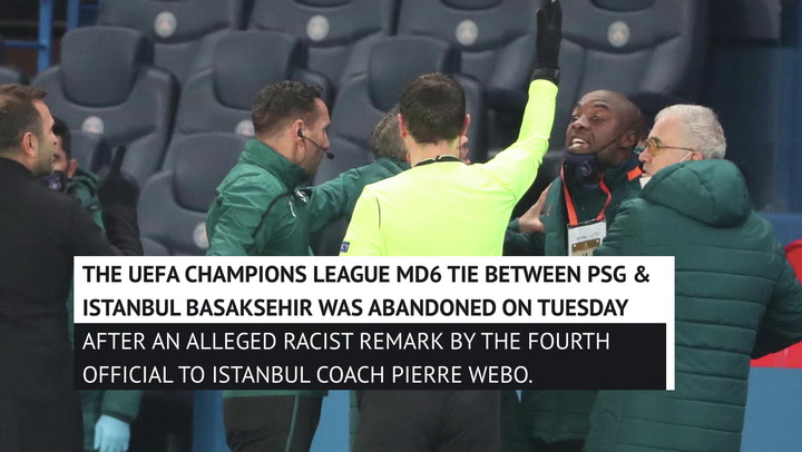 Coaches have their say after Champions League racism incident