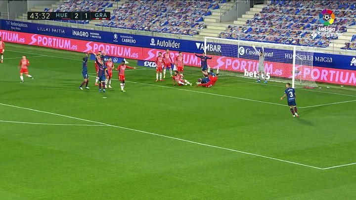 Gol de Foulquier (p.p.) (3-1) en el Huesca 3-2 Granada