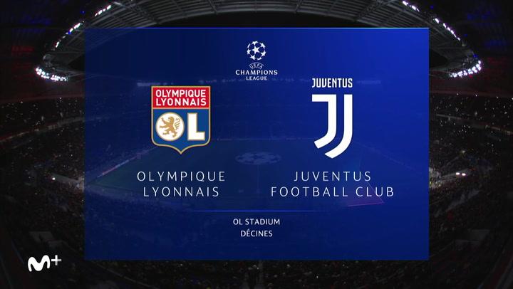 Champions League: Resumen y Goles del Olympique Lyon - Juventus