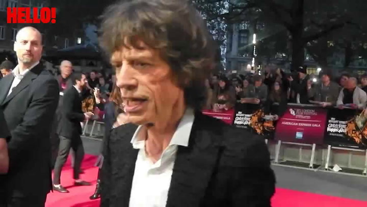 Rolling Stones attend premiere of \